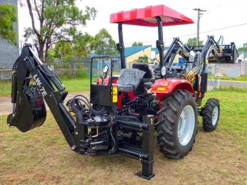 WHM LW7E Side Shift Backhoe