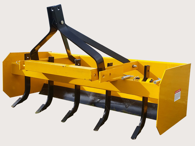 5' Box Grader Blade with Rippers - WHM Tractors