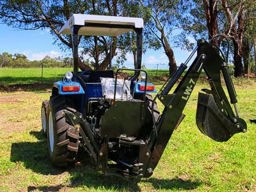 WHM LW7 Tractor Backhoe