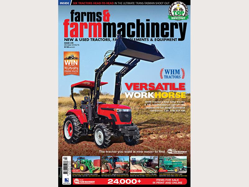 WHM Tractors Farms & Farm Machinery