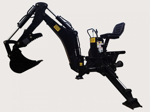 WHM LW7 Backhoe for tractors