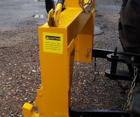 WHM 3PL Quick Hitch Adapter